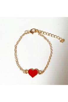 Новинка: браслет с красным сердечком Kokette